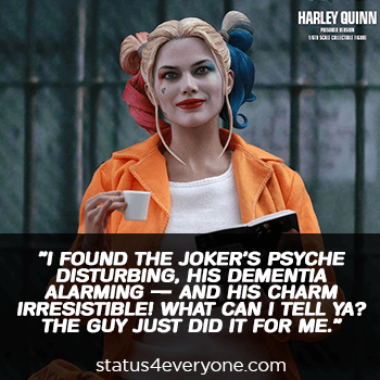 harley quinn quotes to joker