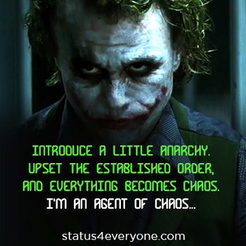 joker quotes dark knight