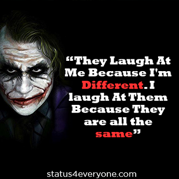 joker quotes from suicide squad