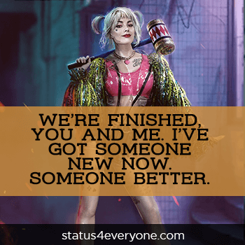sad harley quinn quotes