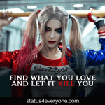 suicide squad harley quinn quotes