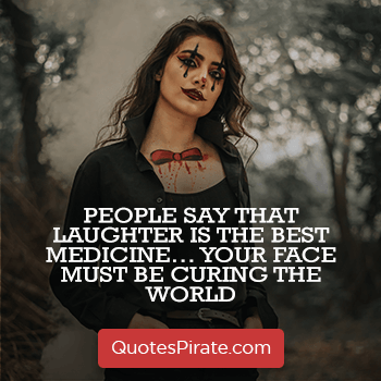 people say that laughter is the best medicine sarcastic quotes