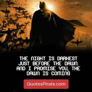 120 Batman Quotes that show how idealist this character was