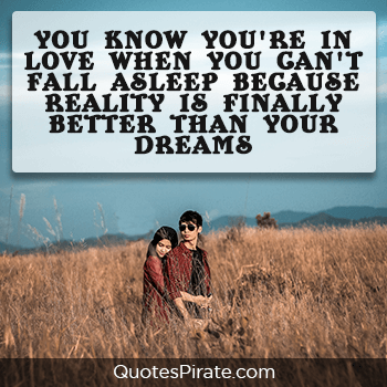 you know you are in love when you cant fall asleep sweet quotes